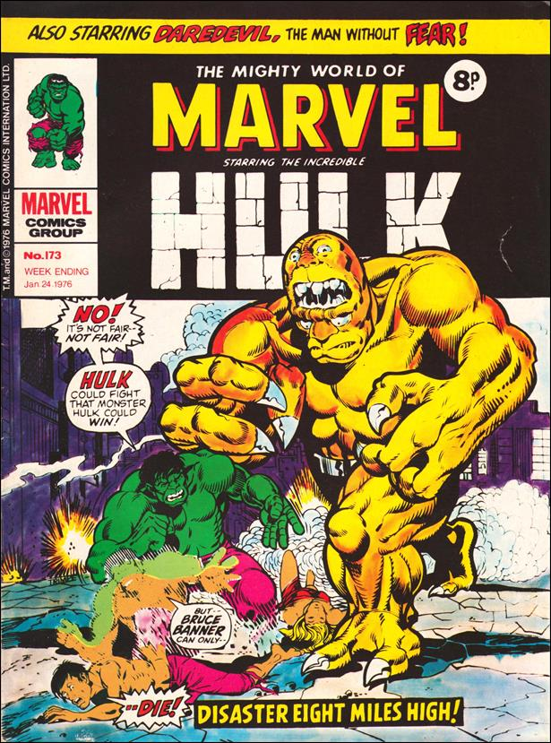 Mighty World of Marvel (UK) (1972) 173-A by Marvel UK