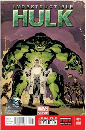 Indestructible Hulk 1-G by Marvel