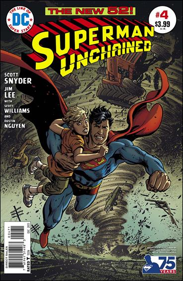 Superman Unchained 4-H by DC