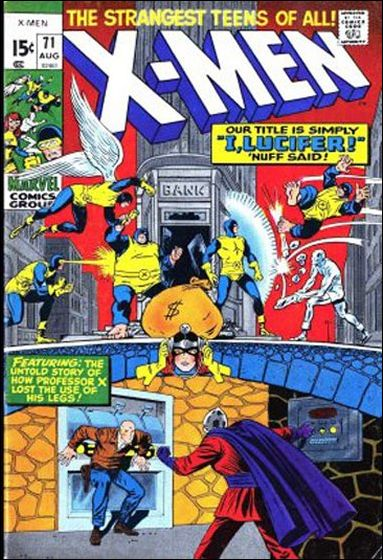 X-Men (1963) 71-A by Marvel