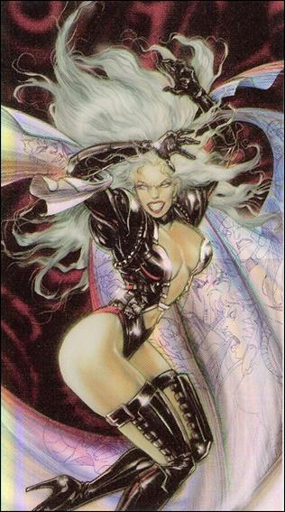 WildC.A.T.s '94 (Painted Refractor Foil Cards Subset) P10-A by WildStorm