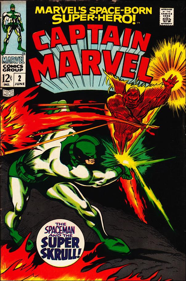Captain Marvel (1968) 2-A by Marvel