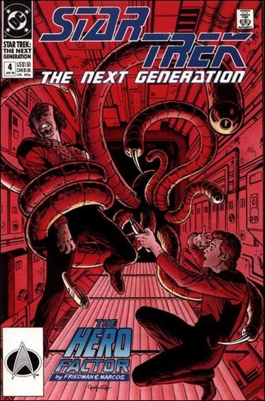 Star Trek: The Next Generation (1989) 4-A by DC