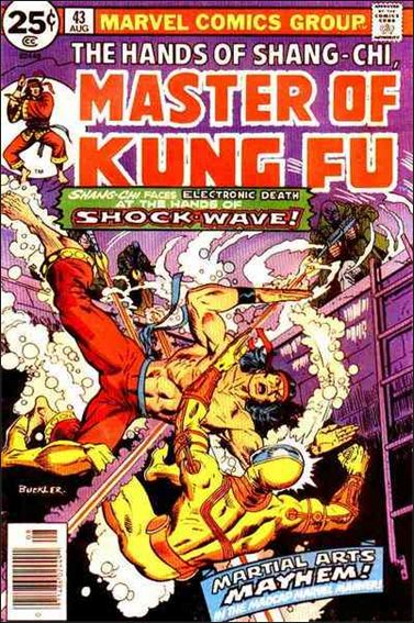 Master of Kung Fu 43-A by Marvel