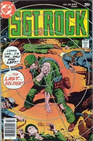 Sgt. Rock (1977) 306-A by DC