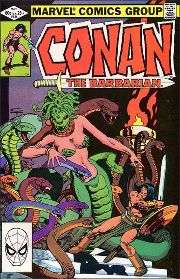 Conan the Barbarian (1970) 134-A by Marvel
