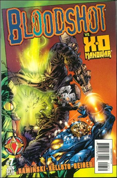 Bloodshot (1997) 7-A by Acclaim