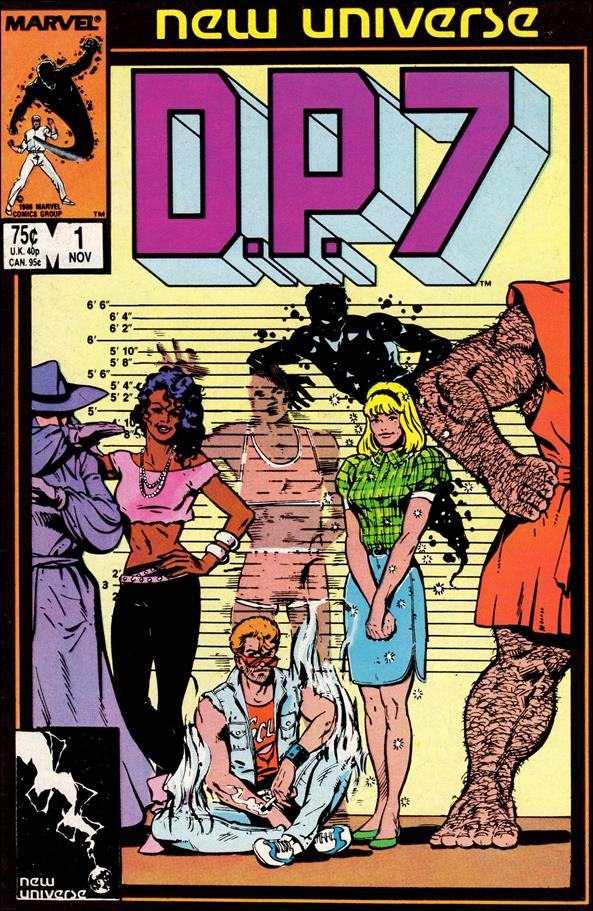 D.P.7 1-A by Marvel