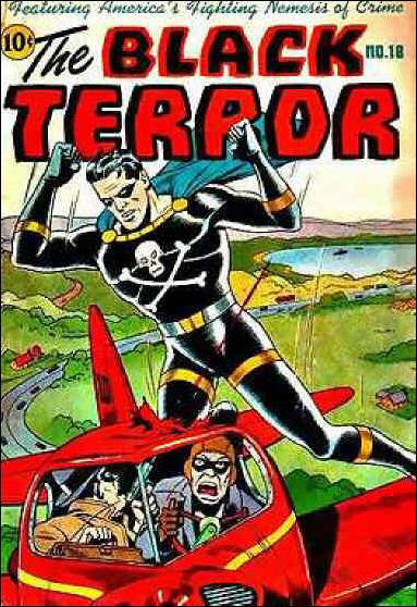 Black Terror (1942) 18-A by Nedor