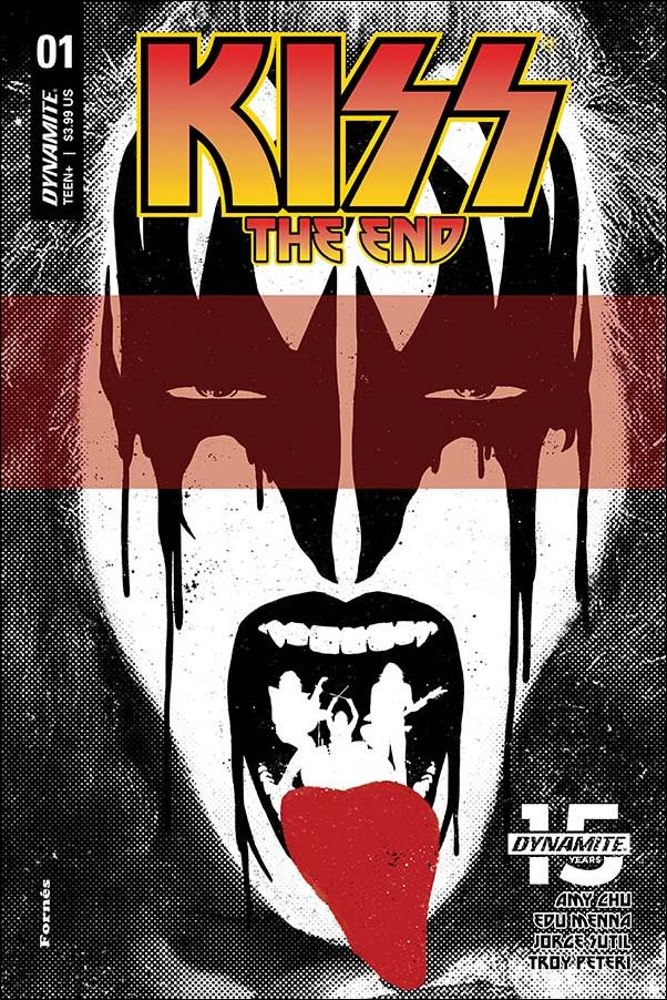 Kiss: The End 1-B by Dynamite Entertainment