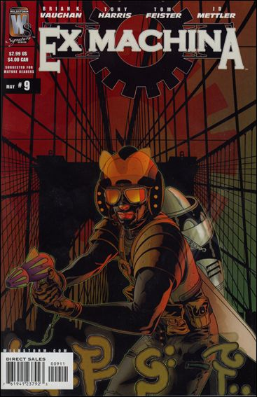 Ex Machina 9-A by WildStorm