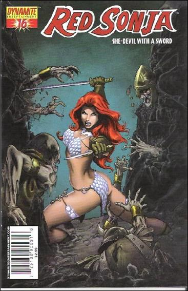 Red Sonja (2005) 16-B by Dynamite Entertainment