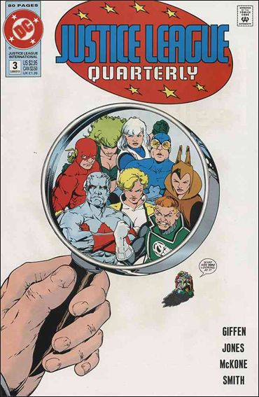 Justice League Quarterly 3-A by DC