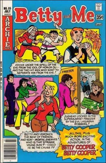 Betty and Me 85-A by Archie