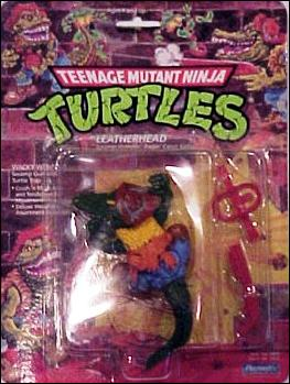Teenage Mutant Ninja Turtles (1988) Leatherhead by Playmates