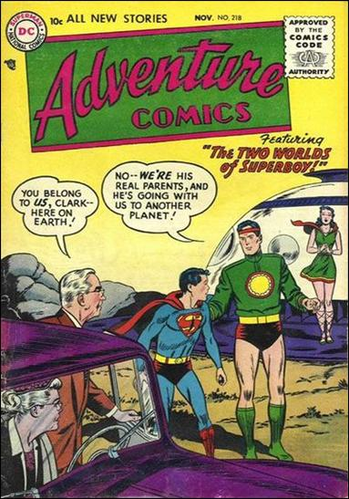 Adventure Comics (1938) 218-A by DC