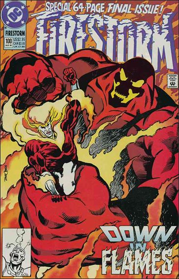 Firestorm The Nuclear Man (1987) 100-A by DC