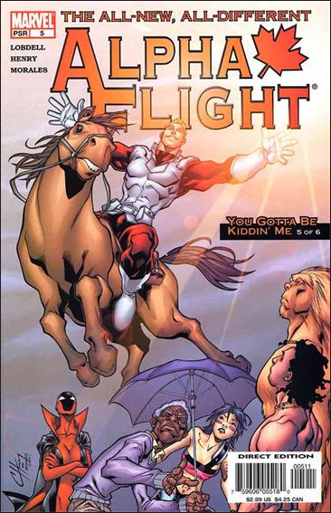 Alpha Flight (2004) 5-A by Marvel