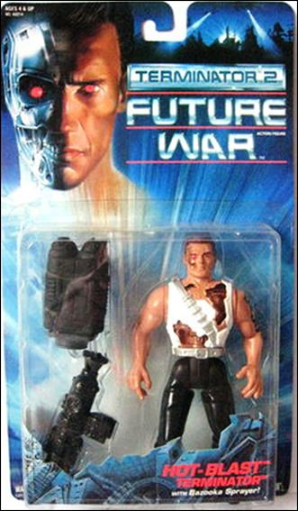 Terminator 2: Future War  Hot-Blast Terminator by Kenner