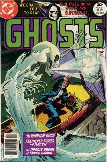 Ghosts (1971) 54-A by DC