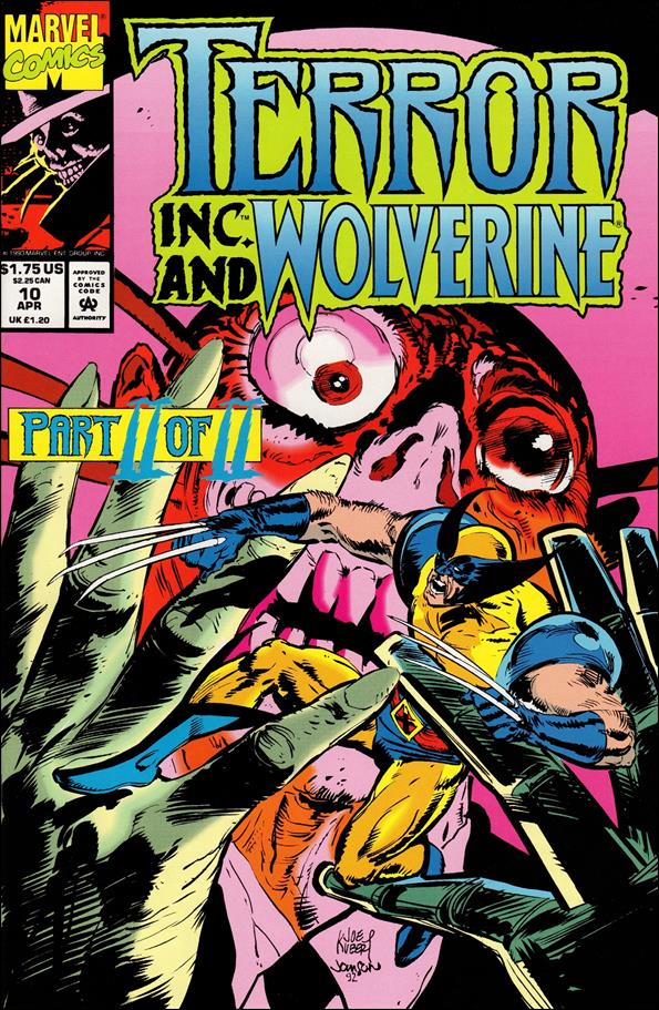 Terror, Inc. (1993) 10-A by Marvel