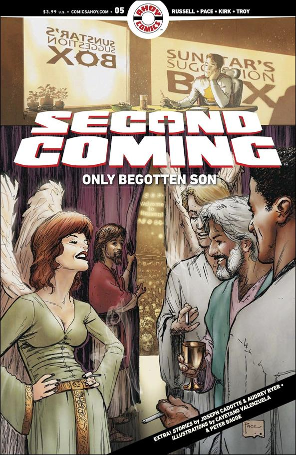 Second Coming: Only Begotten Son 5-A by Ahoy Comics