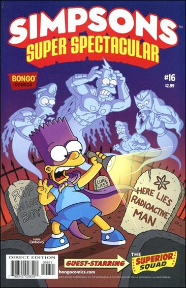 Bongo Comics Presents Simpsons Super Spectacular 16-A by Bongo