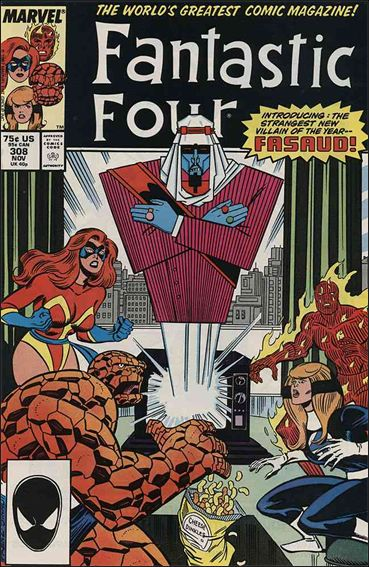 Fantastic Four (1961) 308-A by Marvel
