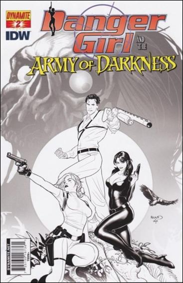 Danger Girl and the Army of Darkness 2-E by Dynamite Entertainment