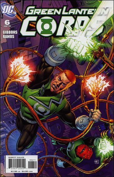 Green Lantern Corps (2006) 6-A by DC