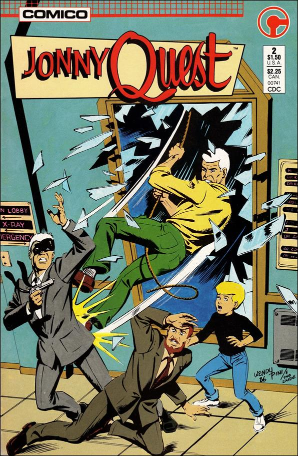 Jonny Quest (1986) 2-A by Comico