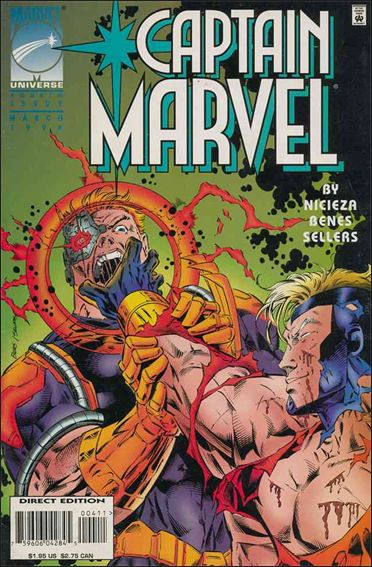 Captain Marvel (1995) 4-A by Marvel