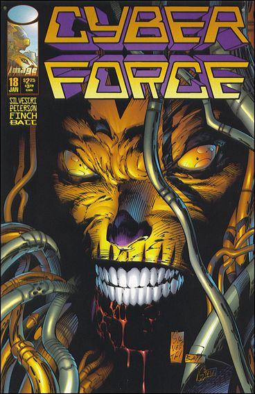 Cyberforce (1993) 18-B by Image