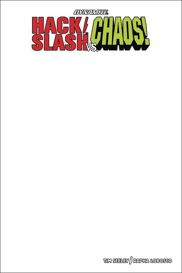Hack/Slash vs Chaos 1-D by Dynamite Entertainment