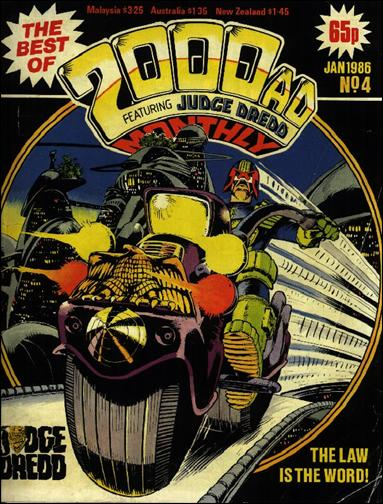 Best of 2000 A.D. Monthly 4-A by Fleetway