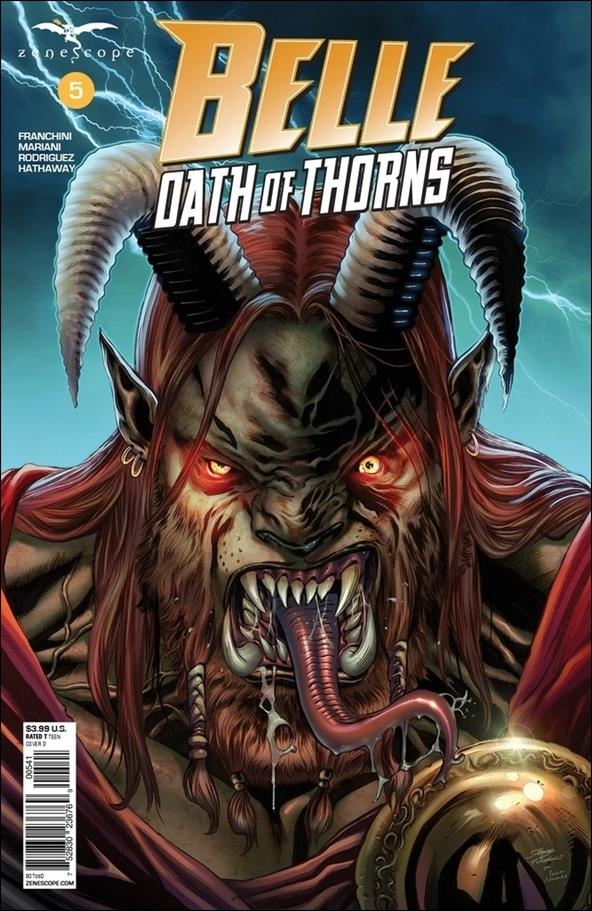 Belle: Oath of Thorns 5-D by Zenescope Entertainment