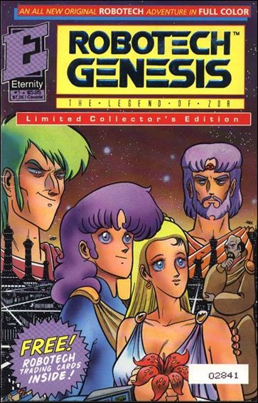 Robotech Genesis 1-B by Eternity