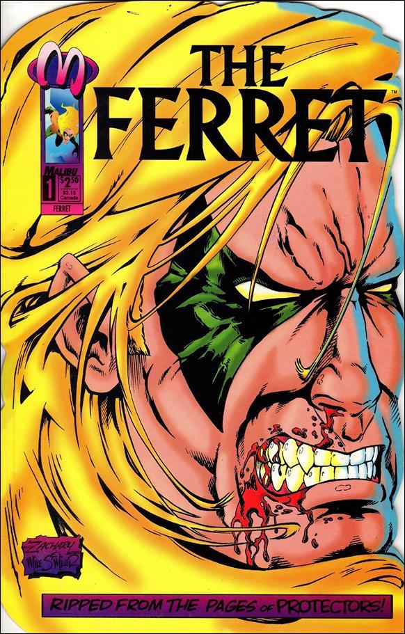 Ferret (1993) 1-A by Malibu