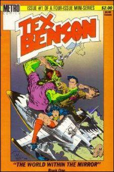 Tex Benson 1-A by Metro Comics