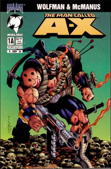 Man Called A-X (1994) 1-A by Malibu