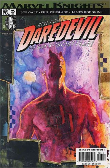 Daredevil (1998) 25-A by Marvel