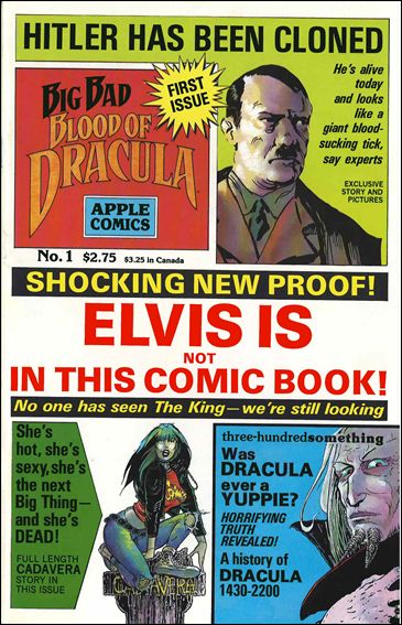 Big Bad Blood of Dracula 1-A by Apple