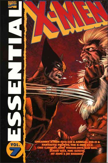 Essential X-Men 7-A by Marvel