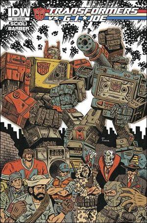 Transformers vs. G.I. Joe 2-B
