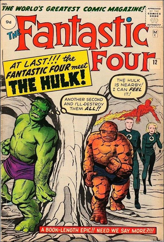 Fantastic Four (1961) 12-B by Marvel