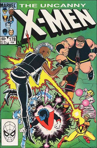 Uncanny X-Men (1981) 178-A by Marvel