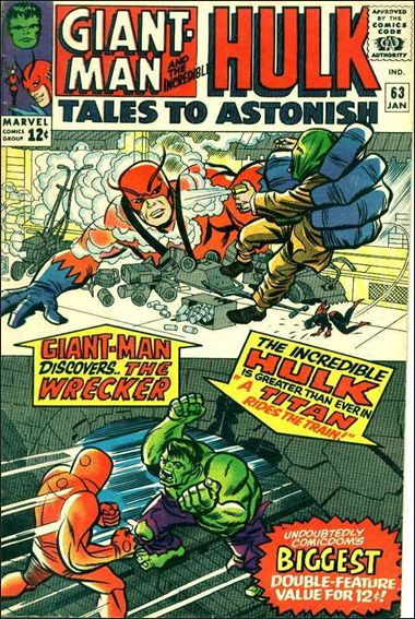 Tales to Astonish (1959) 63-A by Marvel