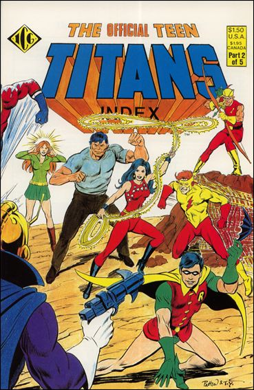 Official Teen Titans Index 2-A by ICG