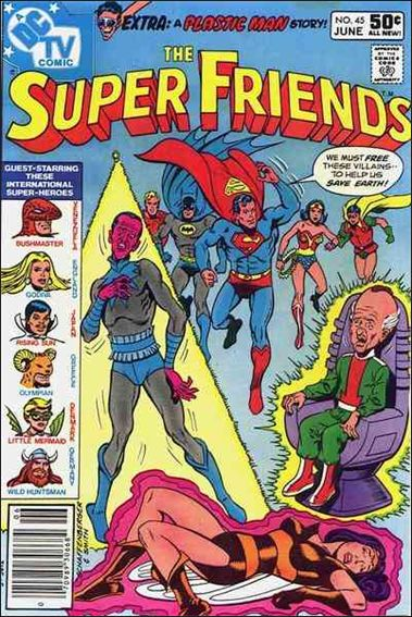 Super Friends (1976) 45-A by DC