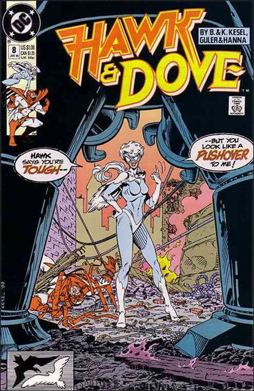 Hawk and Dove (1989) 8-A by DC